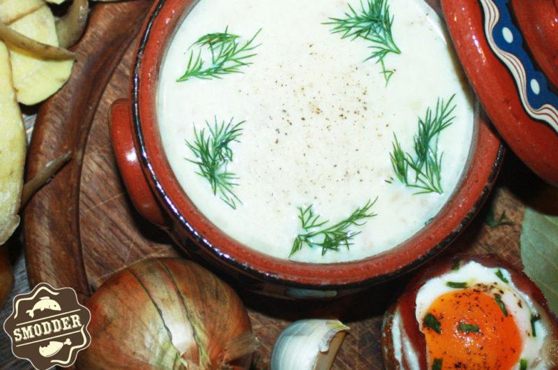 Potato peel soup
